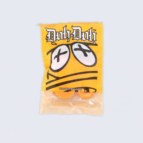 Shorty's 92 Medium Soft Doh Doh Bushings Yellow