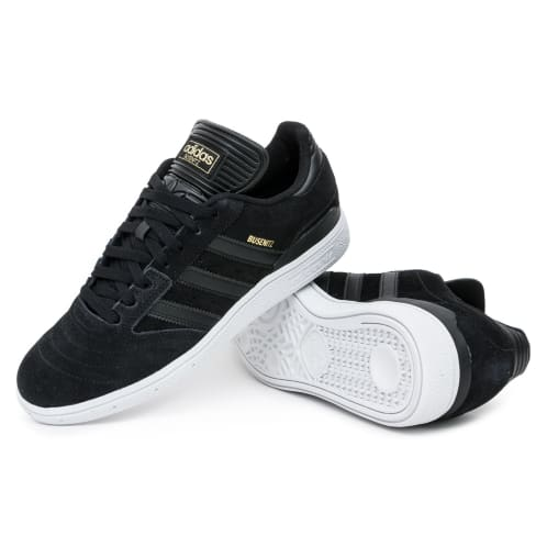 Adidas Busenitz Shoes - Black/Black/White
