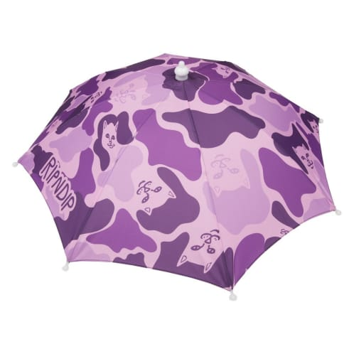 Rip N Dip Real Shady Umbrella Hat Purple