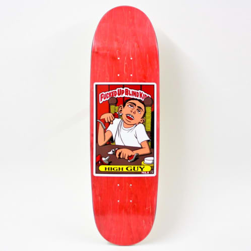 """Blind Hand Screened Fucked Up Blind Kids Guy Mariano Reissue 9.0"""""""