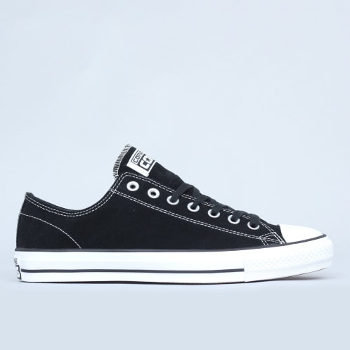 bf857e0fc994 Converse CTAS Pro OX Shoes Black   White Suede