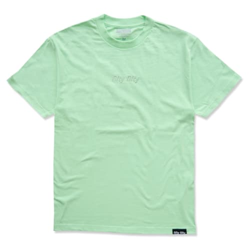 Fifty Fifty Tonal Embroidered T-Shirt Mint