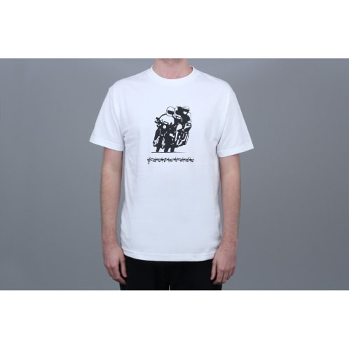 Bronze Fastminds T-Shirt White