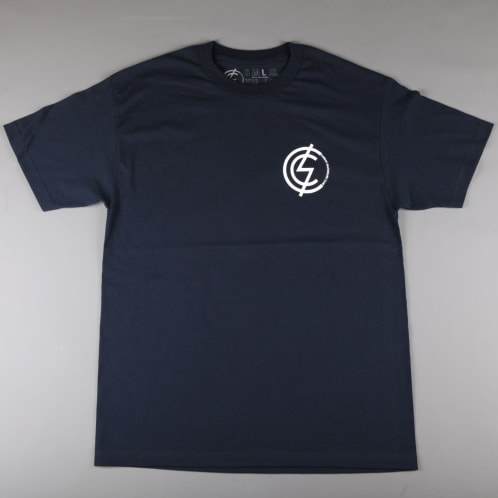 CSC 'Mod Chest' T-Shirt (Navy / White)