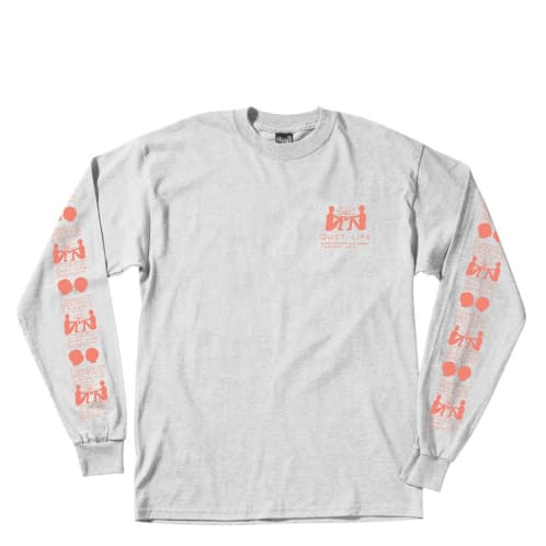 The Quiet Life - Community Meeting L/S Tee - Ash Heather