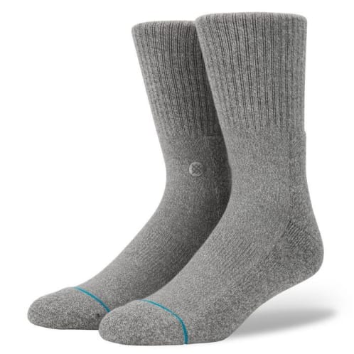Icon 3 Pack Socks | Grey