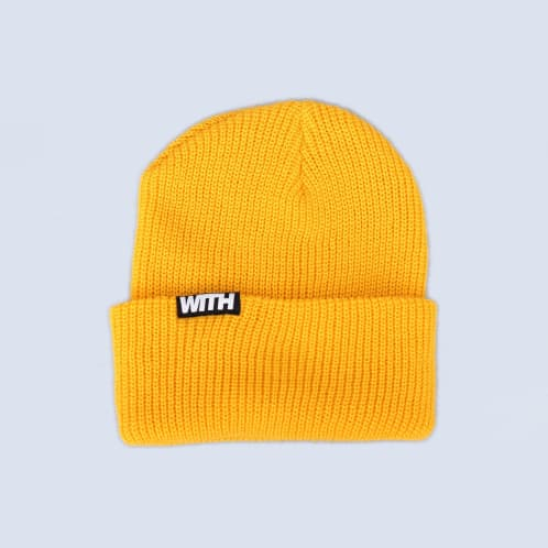 WITH OG Beanie Yellow