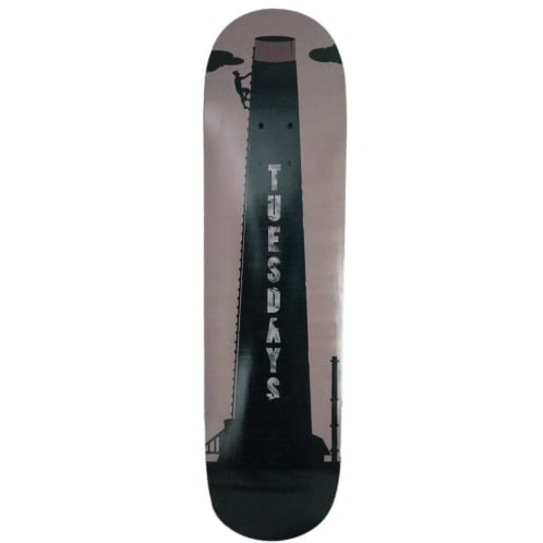 Tuesdays 'Steeplejack' Skateboard Deck 8.5""
