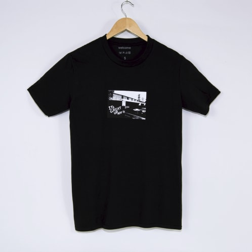 Welcome Skate Store - It's Great Up North T-Shirt - Black