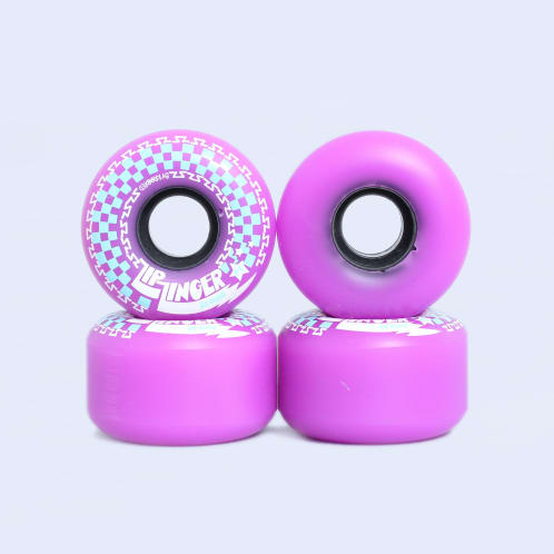 Krooked 54mm 80D Zip Zinger Wheels Purple