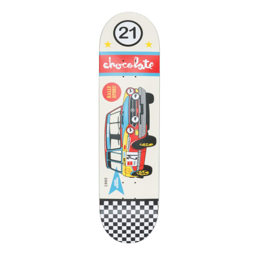 """Chocolate Rally Cars Kenny Anderson Deck - 8.125"""""""