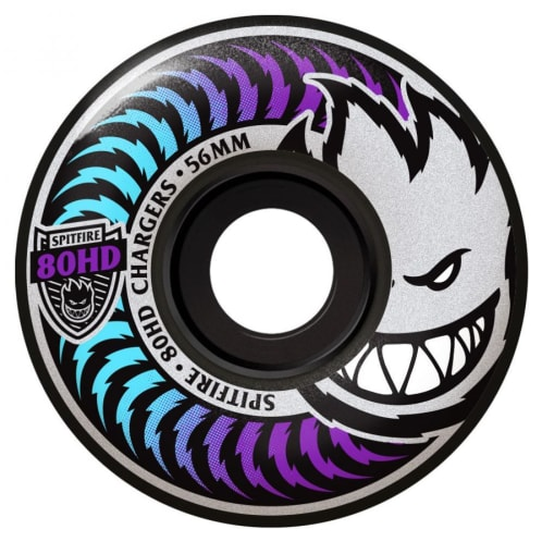 Spitfire Soft Wheels 80HD Charger Classics Fade Black 56mm