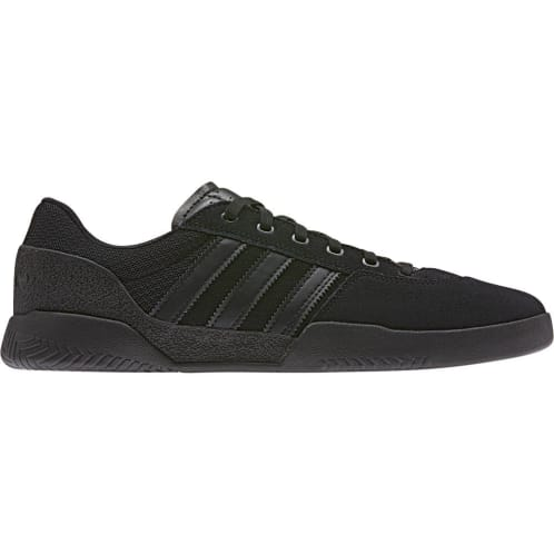 Adidas Skateboarding City Cup Skate Shoes Black/Black/Black
