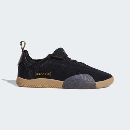 Adidas 3ST.003 Shoes - Core Black/Gold Metallic/Core Black
