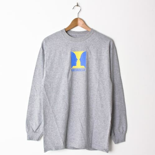 Bronze Thanks For Watching Longsleeve Heather Grey