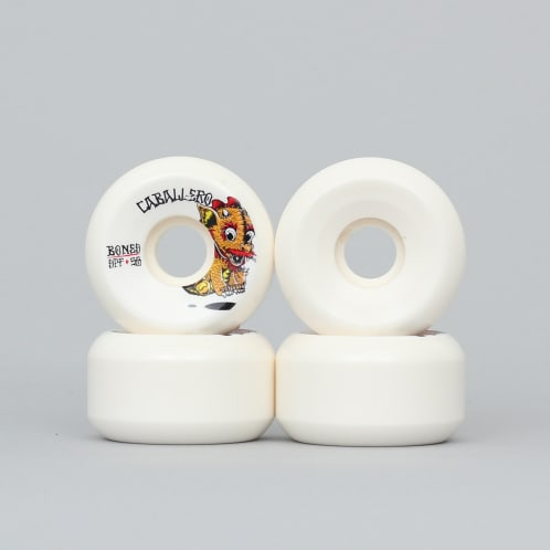 Bones 58mm Caballero Baby Dragon SPF Side Wheels White