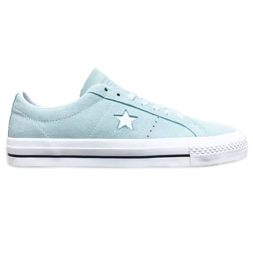 Converse Cons One Star Pro OX Shoe Teal Tint/White