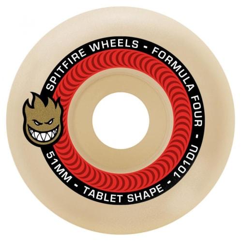 Spitfire Wheels - Formula Four tablet shape 101D - 51mm
