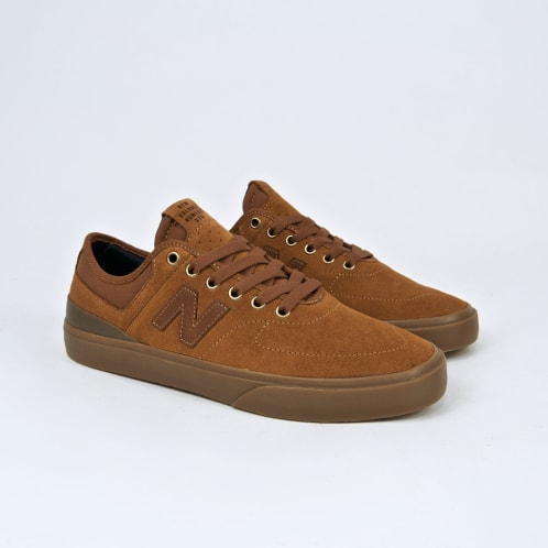 New Balance Numeric - 379 Shoes - (Jake Hayes) Brown / Gum