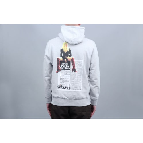 Thames More Girls Hood Grey Marl