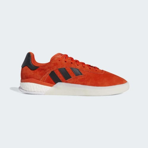 Adidas 3ST.004 Shoes - Collegiate Orange/Core Black/Cloud White