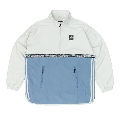 Adidas Dakari Windbreaker Jacket - Raw White/Raw Grey