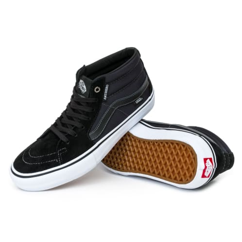 Vans x Anti Hero Sk8-Mid Pro Shoes - Grosso/Black