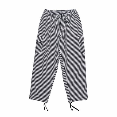 Polar Skate Co. Stripe Cargo Trousers - White/Black