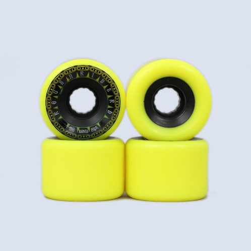 Bones 56mm Rough Riders Tank ATF Wheels Yellow