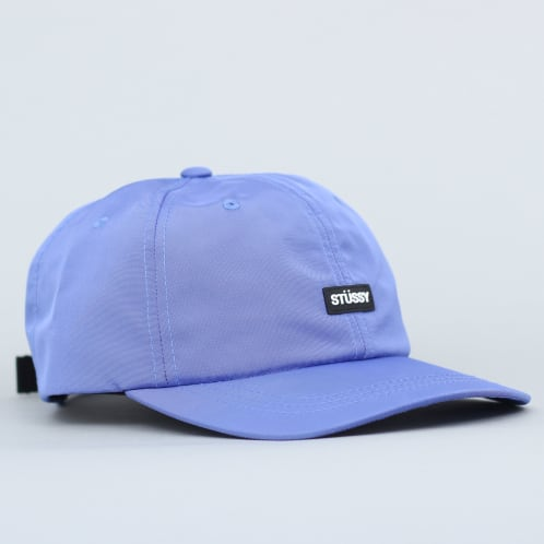 Stussy Rubber Patch Low Pro Cap Blue