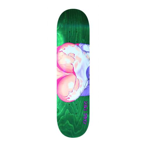 Hook Ups Torn Skateboard Deck - 8.25