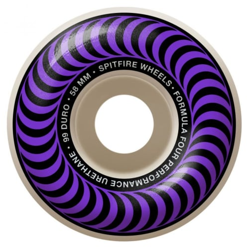Spitfire Formula Four Classic Wheels Purple 99DU 58mm