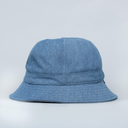 Brixton Banks II Bucket Hat Blue Washed Denim