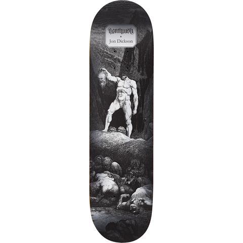 Deathwish Skateboards Jon Dickson Dante's Inferno Deck - 8.25