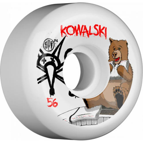 Bones Kowalski Bear SPF Wheels - 56mm