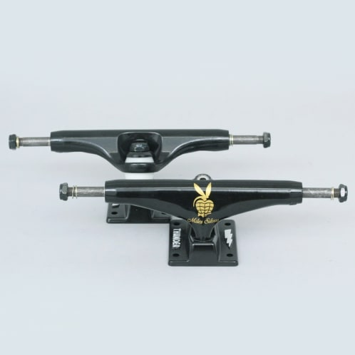 Thunder 149 Miles Player Hollow Lights Trucks Black (Pair)