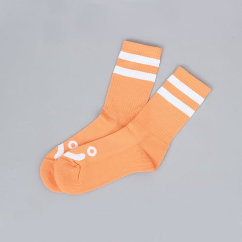 Polar Happy Sad Socks Light Orange