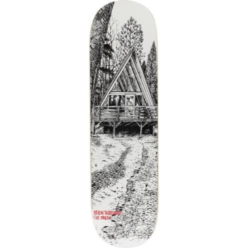 Heroin Skateboards Cabin Series 2 Lee Yankou Skateboard Deck - 8.25