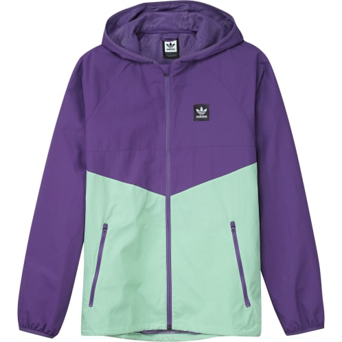 Adidas Dekum Packable Wind Jacket -Active Purple/Clear Mint