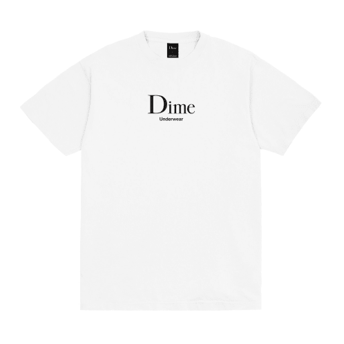 Dime Underwear T-Shirt White