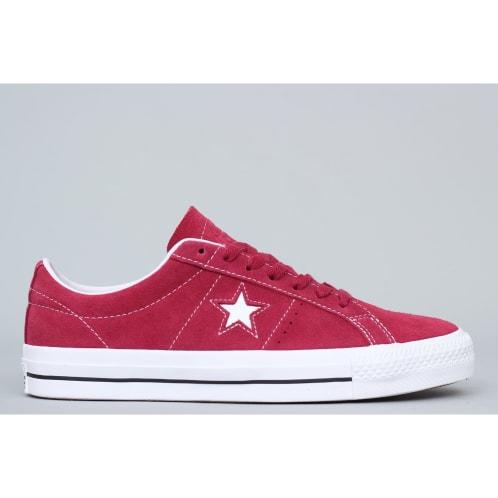 Converse One Star Pro OX Shoes Rhubarb   Black   White ed0c7c4e5