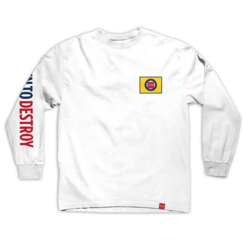 Battle Lines Down To Destroy Long Sleeve T-Shirt