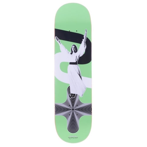 "Quasi ""Johnson -Peace Two"" Skateboard Deck 8.5"""