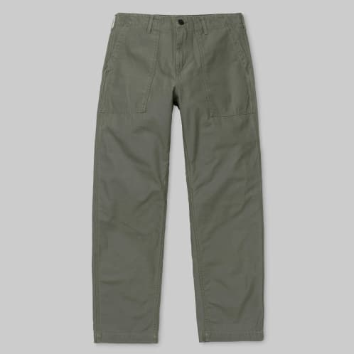 Carhartt WIP - Fatigue Pant - Moor (Stone Washed)