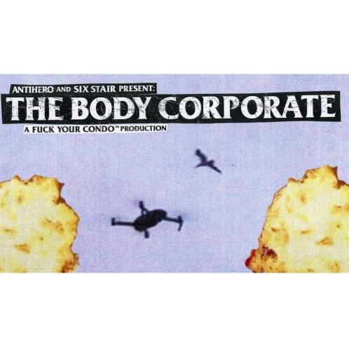 AntiHero - The Body Corporate DVD