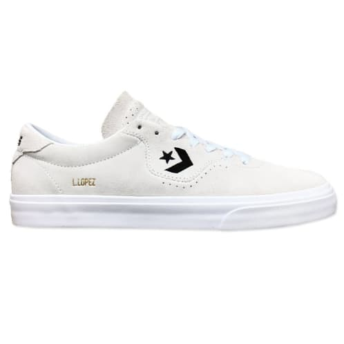 Converse Cons Louie Lopez Pro Shoes - White/White/Black
