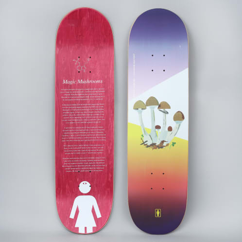 Girl 8.5 Rick Howard The Psychedelic Plants Skateboard Deck