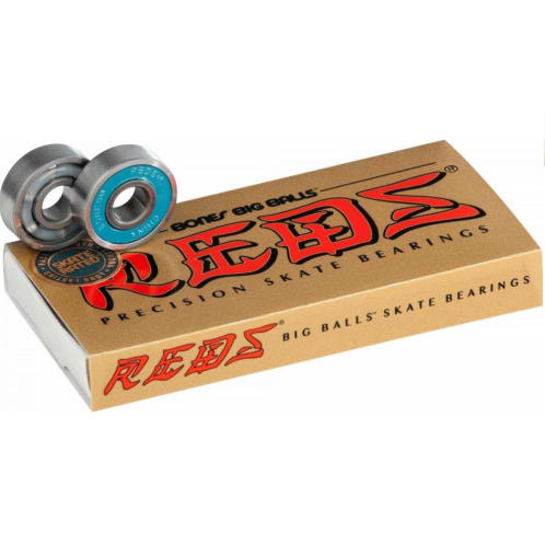 Bones Big Balls Reds Bearings (Set of 8)