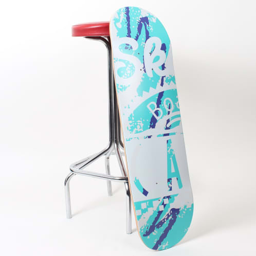 Skateboard Cafe Cup Deck White - All Sizes