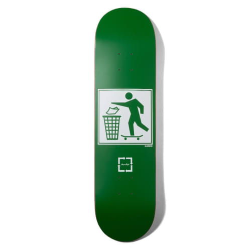 "Justin Eldridge's ""Don't Trash"" One-Off Deck 8.25"""